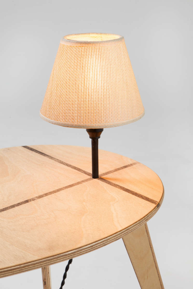 plywood lighting. plywood with natural tint and a shadowline detail lighting