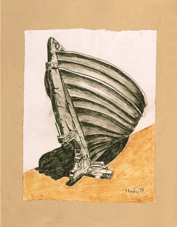Thodoris Kanakis Green Boat