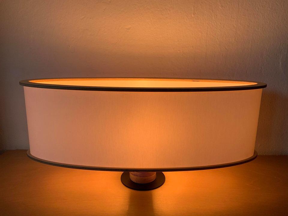 Oval shade. Καπέλο φωτιστικού οβάλ