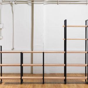 Bookcase modular system