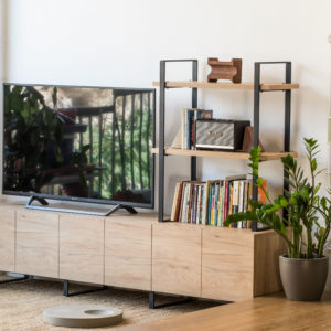 tv furniture with cupboards