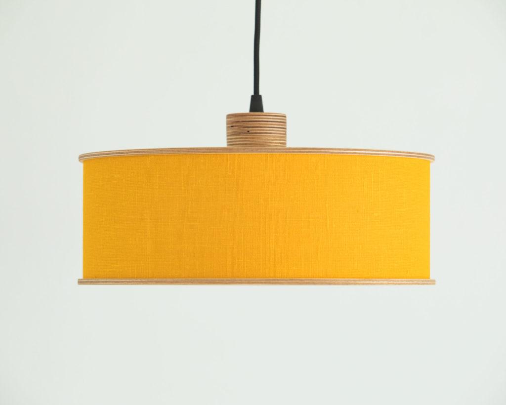 yellow lampshade