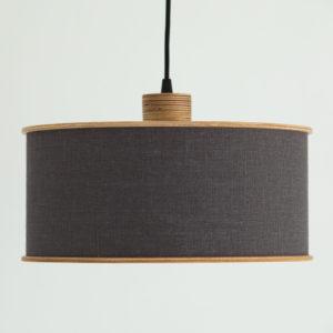 dark grey lampshade